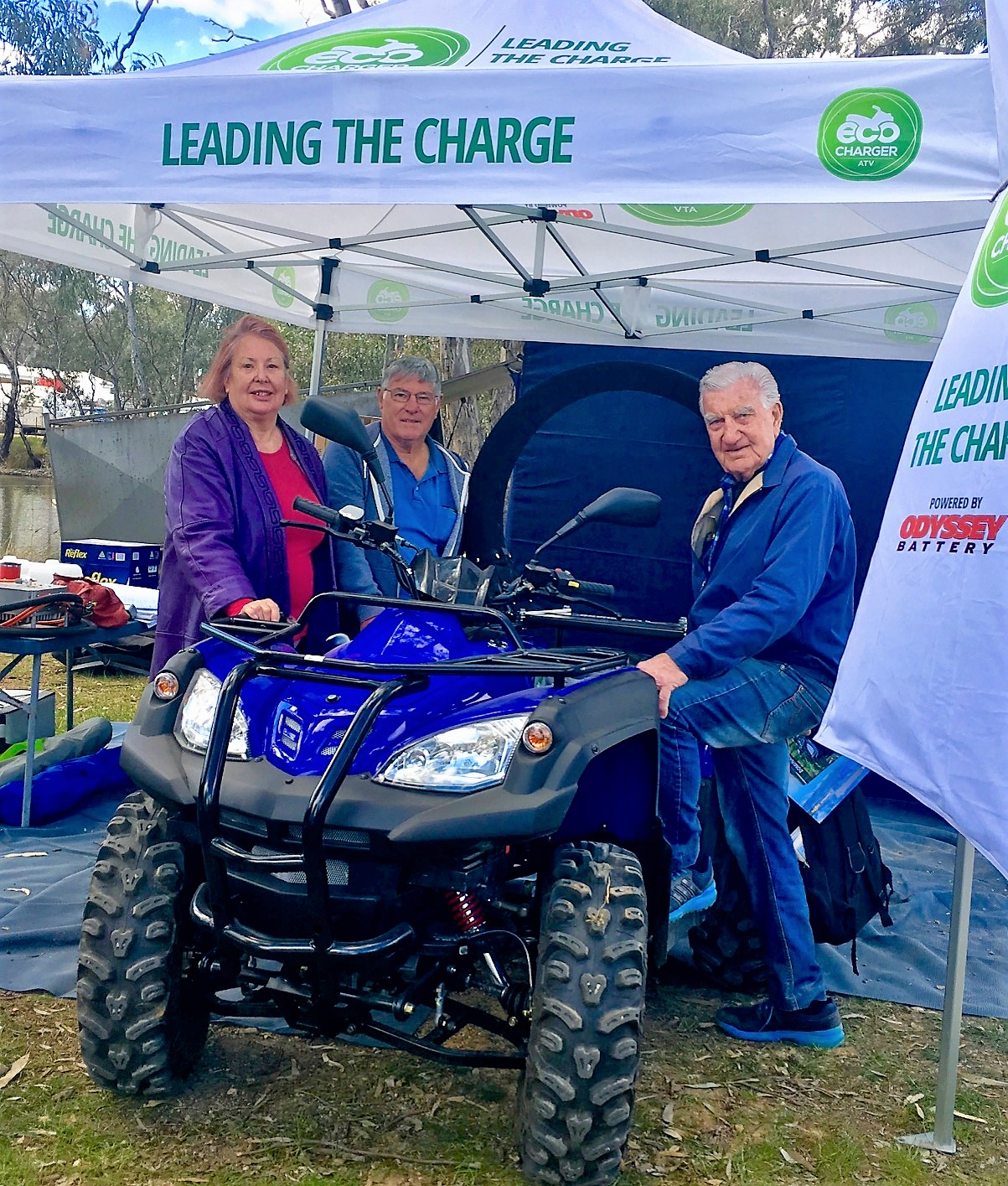 Ecocharger Exhibiting at Henty Machinery Field Days 2018